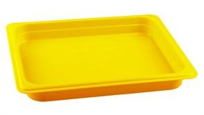 Гастроемкость из полипропилена без крышки GN 1/2 325х265х40 мм желтая [422109106]