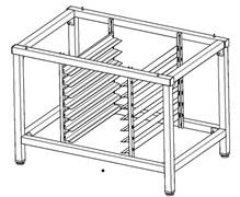 Подставка для пароконвектомата ITERMA 430 GIERRE GASTRO