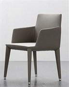 Кресло TONON BELLA 376. 11 кожа TENDER 626 нац. орех