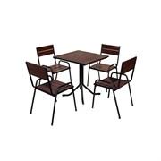 Комплект фьюжн M 1001из стульев M-0101 4 шт и стола M-0308 1 шт