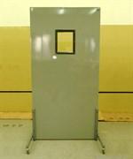 """Ширма рентгенозащитная Большая одностворчатая для персонала ШРБ1-""""ПОНИ"""" (1050х2000 мм) с окном (180х240 мм)"""