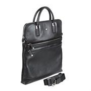 9203 west black Бизнес-сумка Sergio Belotti