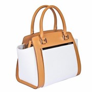 494407 tan-white Женская сумка Gianni Conti