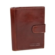 907035 brown  Обложка для паспорта Gianni Conti