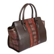 2433434 dark brown Женская сумка Gianni Conti