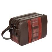 2433436 dark brown Женская сумка Gianni Conti
