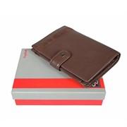 2334 novara cioccolato Портмоне с обложкой для паспорта Sergio Belotti