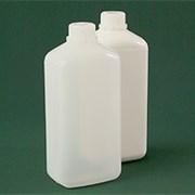 Бутылка прямоугольная 1100 мл  натуральная с крышкой №242 ПЭ