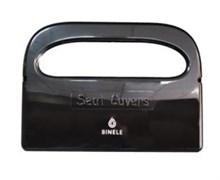 Диспенсер BINELE Seater для подкладок на сидение унитаза (черный)
