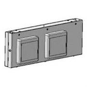 Панель для нижних полок с розетками (4 шт) 300x66x110