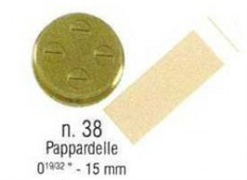 Форма SIRMAN для CONCERTO 5 №38 папарделле 15 мм