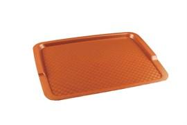 Поднос столовый из полипропилена 425х320 оранжевый