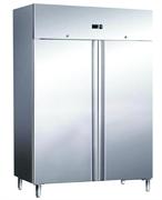 Морозильный шкаф GASTRORAG GN1410 BT -18…-22оС, 1400 л, 2 дверцы с замками, 6 полок-решеток  GN 2/1 с направляющими, нерж.сталь 304