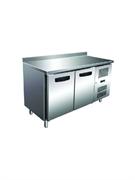 Морозильник-рабочий стол GASTRORAG GN 2200 BT ECX -10...-20оС, 300 л, 2 дверцы, 2 полки-решетки GN 1/1 с направляющими, столешница с бортом, снаружи - нерж.сталь 304/430, внутри - алюминий