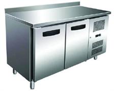Холодильник-рабочий стол GASTRORAG SNACK 2200 TN ECX -2...+8оС, 250 л, 2 дверцы, 2 полки-решетки с направляющими, столешница с бортом, снаружи - нерж.сталь 304/430, внутри - алюминий