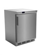 Холодильный шкаф GASTRORAG SNACK HR200VS/S +2…+6оС, 129 л, 1 распашная дверца, 3 полки-решетки, вентилируемый, нерж.сталь