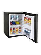 Холодильный шкаф GASTRORAG CBCH-35B компрессорный, хладагент R600a, no frost, 0...+10оС, 35 л, 1 глухая дверца, 2 полки-решетки, подсветка, цвет черный
