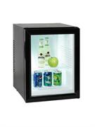 Холодильный шкаф витринного типа GASTRORAG BCW-40B термоэлектрический (без компрессора), вентилируемый, no frost, +3...+10оС, 40 л, 1 стеклянная дверца, 2 полки-решетки, подсветка, цвет черный