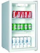 Холодильный шкаф витринного типа GASTRORAG BC1-15 +3…+10оС, 115 л, внутренние размеры камеры 420х470х730 мм, 1 распашная стеклянная дверца, подсветка, 2 полки-решетки, цвет белый
