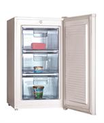 Морозильный шкаф GASTRORAG JC1-10 -18оС, 80 л, 1 глухая распашная дверца, 3 выдвижных ящика из прозрачной пластмассы, цвет белый