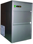 Льдогенератор кускового льда (пальчики) GASTRORAG DB-50A производительность 50 кг/сутки, встроенный бункер для льда вместимостью 12 кг