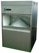 Льдогенератор чешуйчатого льда GASTRORAG DB-20F производительность 20 кг/сутки, встроенный бункер для льда вместимостью 5 кг, средние размеры чешуйки 9х8х7 мм