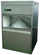 Льдогенератор чешуйчатого льда GASTRORAG DB-50F производительность 50 кг/сутки, встроенный бункер для льда вместимостью 10 кг, средние размеры чешуйки 9х8х7 мм