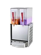 Сокораздаточный аппарат GASTRORAG LSJ-10Lx2 2 резервуара из прозрачной пластмассы емкостью 10 л, система охлаждения и перемешивания, рабочая температура +7...+12оС
