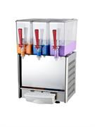 Сокораздаточный аппарат GASTRORAG LSJ-10Lx3 3 резервуара из прозрачной пластмассы емкостью 10 л, система охлаждения и перемешивания, рабочая температура +7...+12оС