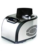 Фризер мороженого GASTRORAG ICM-1518 настольный, съемный резервуар емкостью 1,5 л с антипригарным покрытием, электронный таймер 0-60 мин с шагом 10 мин, материал корпуса - нерж.сталь