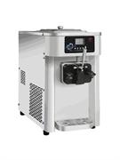Фризер мягкого мороженого GASTRORAG SCM1119RB настольный, 1 резервуар емкостью 10 л с системой ночного охлаждения, 1 морозильный цилиндр с мешалкой из нерж.стали, производительность 19-22 л/ч, 1 вид мороженого, нерж.сталь