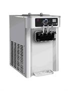"""Фризер мягкого мороженого GASTRORAG SCM1119ARB настольный, 2 резервуара емкостью 6,5 л с системой ночного охлаждения, 2 цилиндра с мешалками из нерж.стали, производительность 20-24 л/ч, 2 вида мороженого + """"косичка"""", нерж.сталь"""