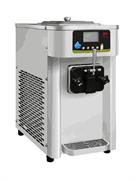 Фризер мягкого мороженого GASTRORAG SCM1116ARB настольный, 1 резервуар емкостью 7 л с системой ночного охлаждения, 1 морозильный цилиндр с мешалкой из нерж.стали, производительность 12 л/ч, 1 вид мороженого, нерж.сталь