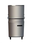 Посудомоечная машина GASTRORAG HDW-67 колпаковая, до 60 кассет/ч, длительность рабочего цикла 0-99 сек, размеры кассеты 500х500 мм, встроенные дозаторы моющих и ополаскивающих средств, 1 кассета для тарелок в комплекте