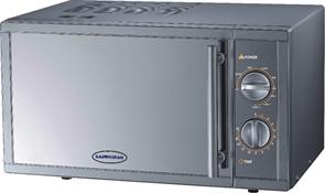Микроволновая печь GASTRORAG WD90023SLB7 настольная, с грилем, мощность СВЧ 900 Вт, мощность гриля 1000 Вт, емкость камеры 23 л, нерж.сталь