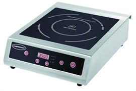 Плита GASTRORAG TZ BT-350A электрическая, настольная, индукционная, 1 зона нагрева, кнопочное управление, 10 уровней мощности (500-3500 Вт), рабочая температура 60-240оС, электронный таймер 0-180 мин