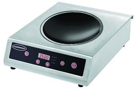 Плита GASTRORAG TZ BT-350B-WOK электрическая, настольная, индукционная, 1 зона нагрева (вок), кнопочное управление, 10 уровней мощности (500-3500 Вт), рабочая температура 60-240оС, электронный таймер 0-180 мин