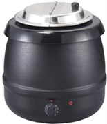 Мармит GASTRORAG 83010SP электрический, настольный, для супов, вставка емкостью 10 л из нерж.стали с откидной крышкой, диапазон регулировки температуры 30-90оС, материал корпуса - окрашенная сталь