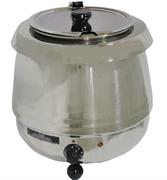 Мармит GASTRORAG SB-6000S электрический, настольный, для супов, вставка емкостью 10 л из нерж.стали с откидной крышкой, диапазон регулировки температуры 30-90оС, материал корпуса - нерж.сталь