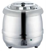 Мармит GASTRORAG SB-5000S электрический, настольный, для супов, вставка емкостью 10 л из нерж.стали с откидной крышкой, диапазон регулировки температуры 30-90оС, материал корпуса -  нерж.сталь