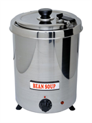 Мармит GASTRORAG SB-5700S электрический, настольный, для супов, круглая вставка емкостью 5,7 л с крышкой, нерж.сталь