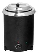 Мармит GASTRORAG SB-5700-AG электрический, настольный, для супов, круглая вставка емкостью 5,7 л с крышкой