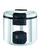 Рисоварка GASTRORAG DKR-180B электрическая, вставка емкостью 18 л с антипригарным покрытием, режимы работы: варка (100оС)/подогрев (60-80оС), нерж.сталь, в комплекте: 2 мерных стакана, 2 ложки для риса, силиконовый коврик