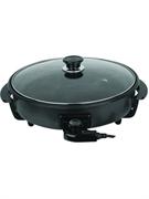Сковорода GASTRORAG CPP-40 электрическая, настольная, со стеклянной крышкой, диаметр 400 мм, глубина 40 мм, алюминий с антипригарным покрытием