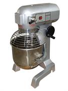 Планетарная тестомесильная машина GASTRORAG B40A-HD 3 скорости (80/160/310 об/мин), съемная 40 л дежа из нерж.стали, крюк, плоский битер, проволочный венчик