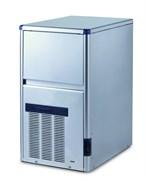 Льдогенератор кускового льда (пальчики) GEMLUX GM-IM30SDE WS водяное охлаждение, производительность 28 кг/сутки (размеры пальчика 29х35х36 мм, вес 21 г), встроенный бункер для хранения льда вместимостью 6 кг, нерж.сталь