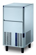 Льдогенератор кускового льда (пальчики) GEMLUX GM-IM50SDE AS воздушное охлаждение, производительность 47 кг/сутки (размеры пальчика 29х35х36 мм, вес 21 г), встроенный бункер для хранения льда вместимостью 17 кг, нерж.сталь