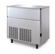 Льдогенератор кускового льда (пальчики) GEMLUX GM-IM220SDE WS водяное охлаждение, производительность 215 кг/сутки (размеры пальчика 29х35х36 мм, вес 21 г), встроенный бункер для хранения льда вместимостью 68 кг, нерж.сталь