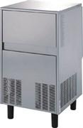 Льдогенератор чешуйчатого льда GEMLUX GM-IM80SPR AS воздушное охлаждение, производительность 70 кг/сутки (остаточное содержание влаги 25%), встроенный бункер для хранения льда вместимостью 25 кг, нерж.сталь