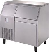 Льдогенератор чешуйчатого льда GEMLUX GM-IM120SPR AS воздушное охлаждение, производительность 120 кг/сутки (остаточное содержание влаги 25%), встроенный бункер для хранения льда вместимостью 55 кг, нерж.сталь